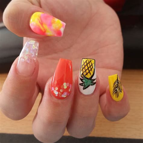 number 1 summer nails 50 cool summer nail art ideas for 2018