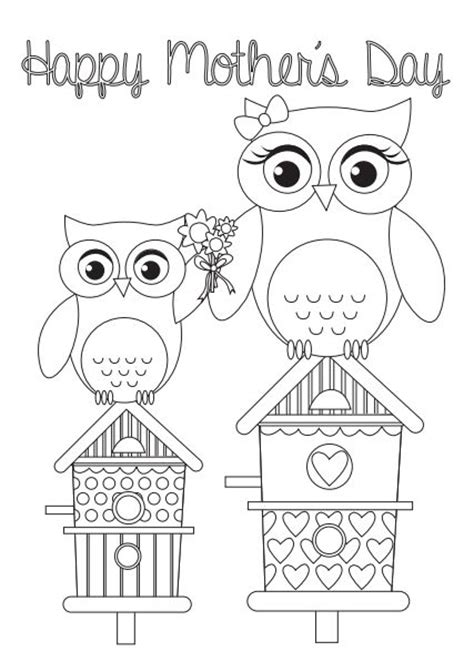 173 Best Corujas Comemorativas Images On Pinterest Owls Birthday Wishes And Happy B Day Card Templates To Color