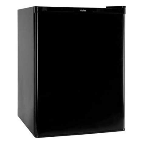 small freezer home depot haier 2 5 cu ft mini refrigerator freezer in black