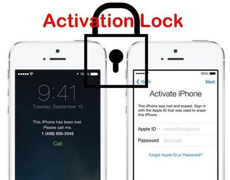 remove icloud activation lock ios