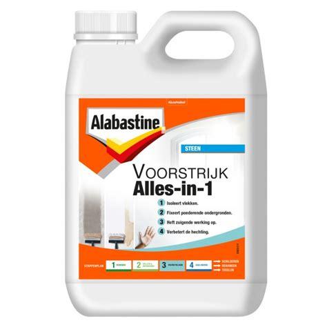Muur Voorstrijken Voor Behang by Voorstrijk Alles In 1 Alabastine