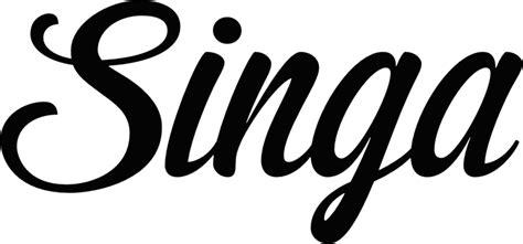 singa logo black san francisco oy