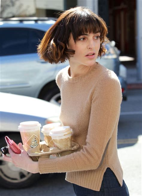 dina lohan short hair ali lohan photos photos ali lohan makes a coffee run