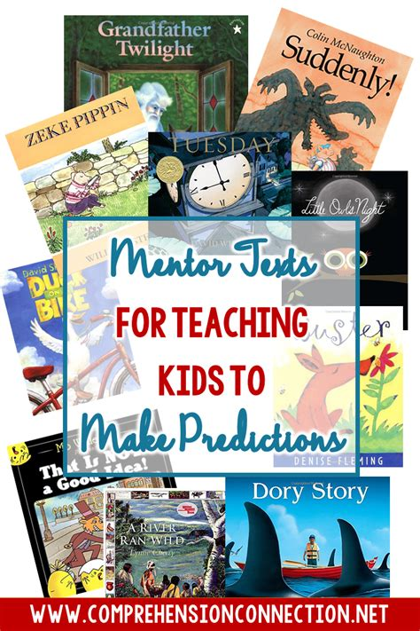 picture books for predicting mentor texts for teaching to make predictions