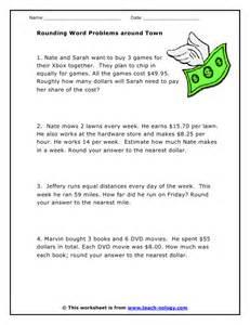 printable real life math worksheets 3rd grade math