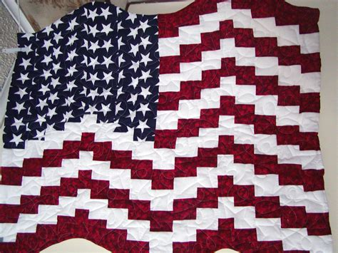 american flag quilt pattern images