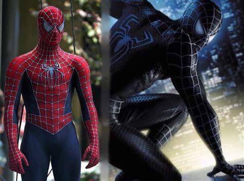 spider man raimi pattern the evolution of the spider man costume onscreen filmfad com