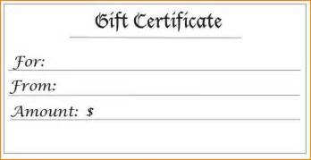 8 blank gift certificate wedding spreadsheet
