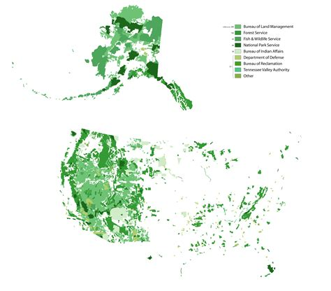 map of federally owned land in usa map of federally owned land in the united states