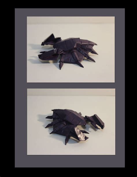 Starcraft Origami - zerg origami drone by xxhonorguardxx paper monsters