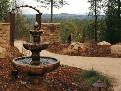 backyard water fountain photos hgtv
