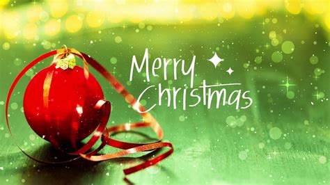 merry christmas background red ornament  green backdrop motion background storyblocks video