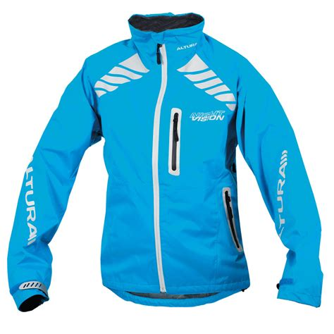 cycling jacket blue wiggle altura women s night vision evo jacket cycling