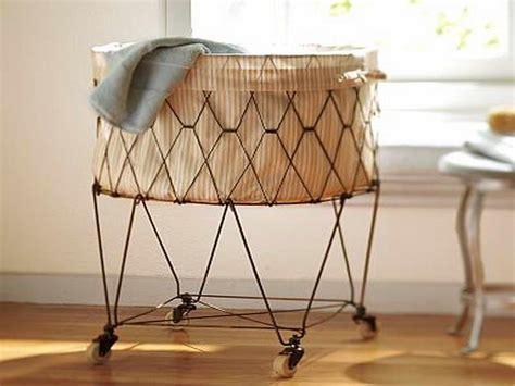 hamper  wheels  easy moving linen homesfeed