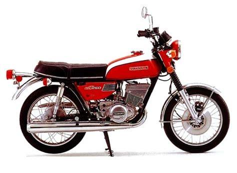 1973 Suzuki Gt250 Suzuki Models 1973 Page 1