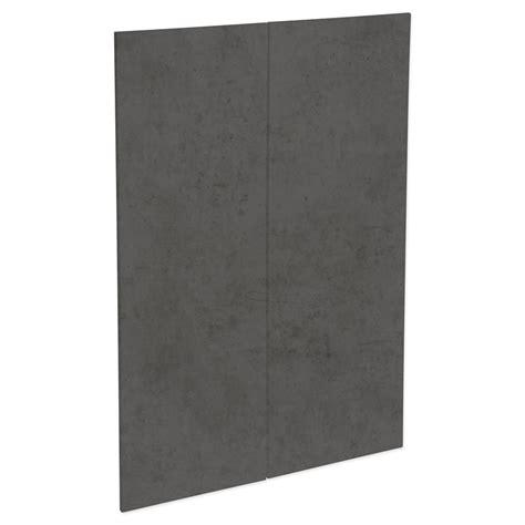 kaboodle mm dark truffle modern medium pantry doors