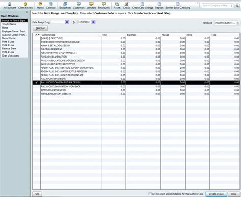 quickbooks export invoice template export to quickbooks 10 000ft