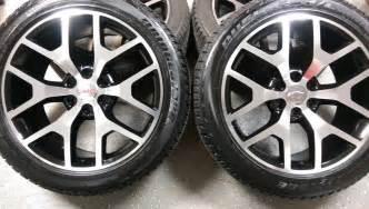 Truck Replica Wheels 22 Quot Gmc Y Spoke Black And Machined Replica