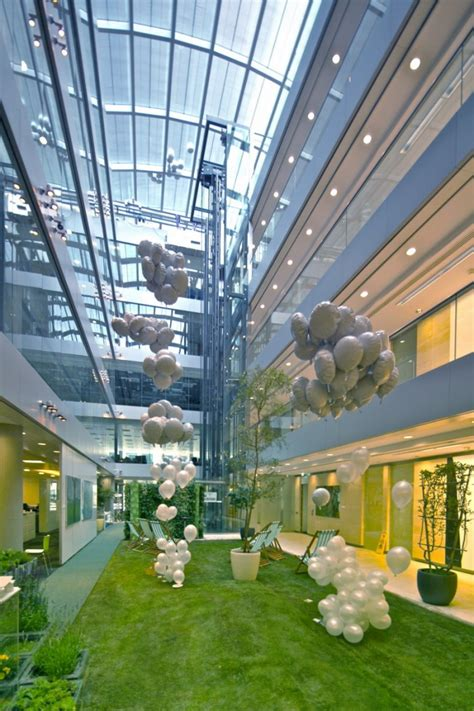 Atrium E Office by Hok Fitzrovia Office Eoffice Coworking Office