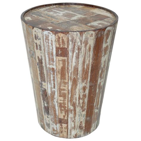 Barrel Side Table Hton Barrel Side Table By Classic Home Furniture