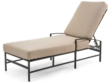 chaise lounge san diego caluco san michele aluminum cushion arm adjustable chaise