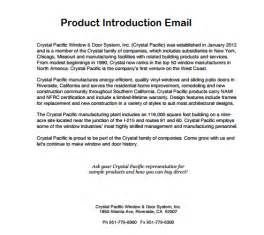 Product launch email archives sample letter