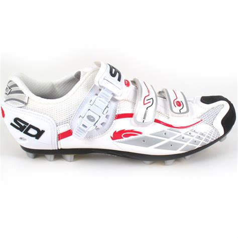 white mountain bike shoes sidi spider white sz 47 0 mountain bike shoes