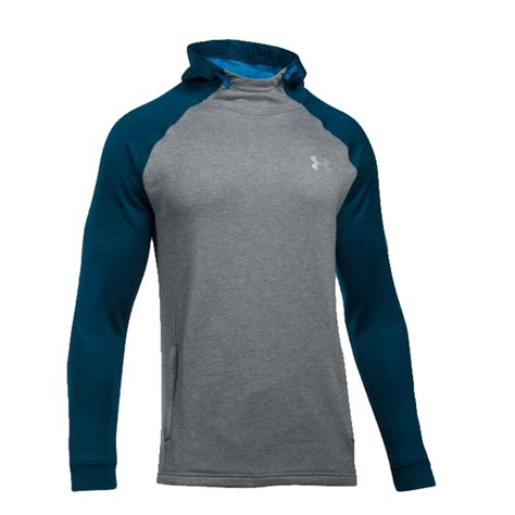 Sweater Hoodie Ua Athletics armour 1289697 s tech terry popover athletic
