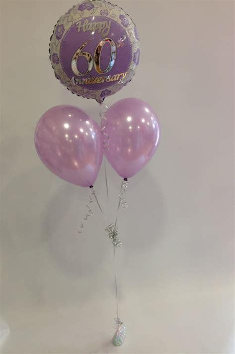 Diamond Anniversary Balloon Bunch