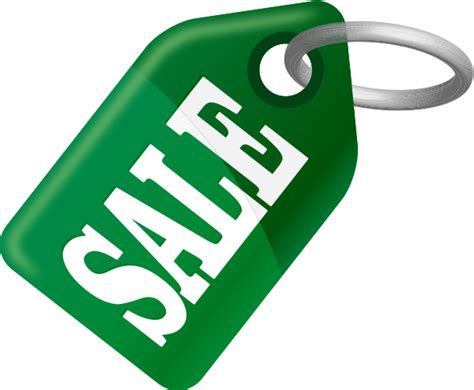 sale tag green vector icon svg vector - Orange Sales