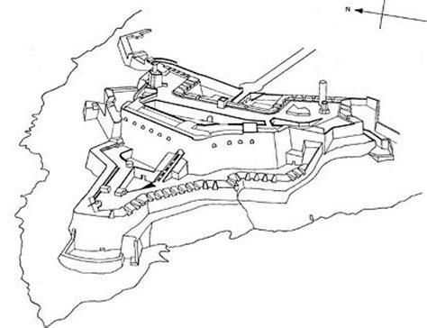 dibujo del morro funcin estrategica de puerto rico