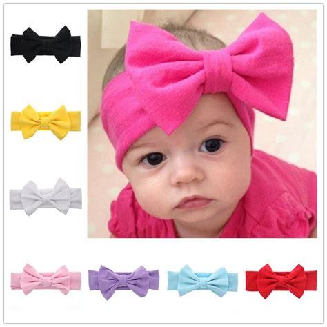 Pita Single Headband Baby Pink T2909 1 bando bayi newborn lucu model pita pink jakartanotebook