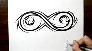 Tribal Infinity Drawing An Elaborate Infinity Symbol Tribal