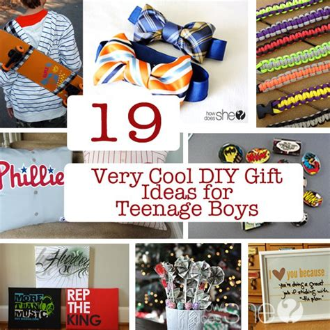 christmas gifts for creative boys 19 cool diy gift ideas for boys great gift ideas