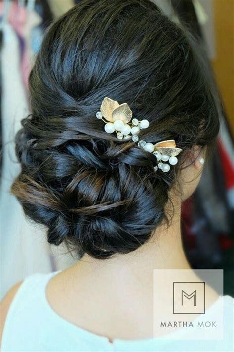 Bridal Hairstyles For Thick Hair by Updos For Thick Hair Wedding