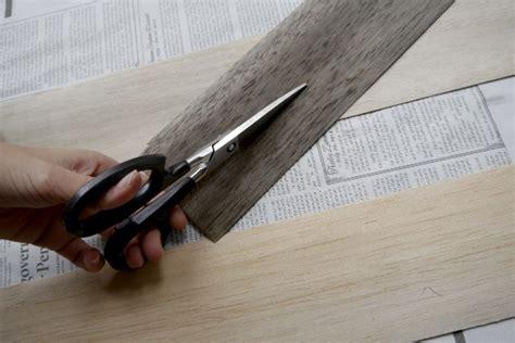 how thin a strip makes a haircut a mohawk diy l shade balsa wood c r a f t