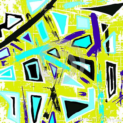 Helm Polygon Graffito White colored polygons graffiti pattern on a yellow background vector cartoondealer
