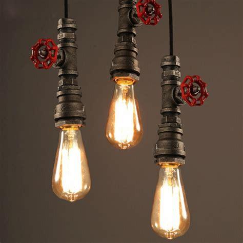 Tavern Light Fixtures Winsoon 1pc Antique Pipe Rustic Pendant Light Lighting For Restaurant Bar E27 Fixtures