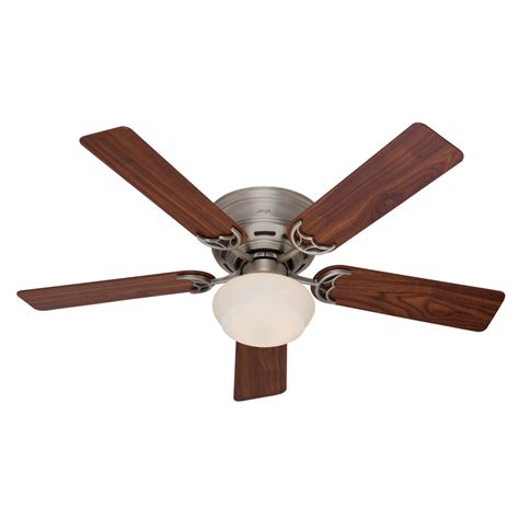 low profile ceiling fans flush mount shop low profile iii plus 52 in antique pewter