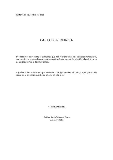 renuncia empleada domestica en mexico cartas de renuncia 2015 newhairstylesformen2014 com