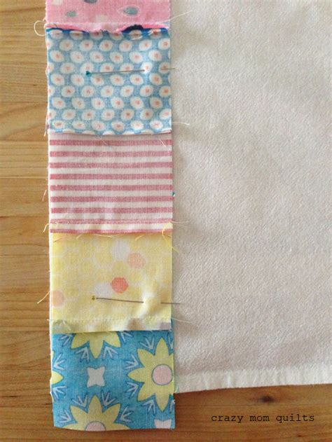 Kitchen Towel Craft Ideas Quilts Simple Patchwork Dish Towel Tutorial