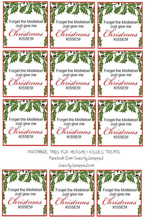 printable hershey kisses tags free printable christmas kisses tags and bag toppers