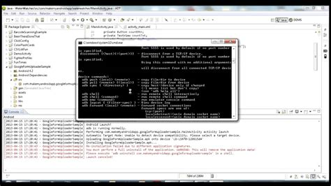 tutorial android debug bridge android development tutorial introduction to adb
