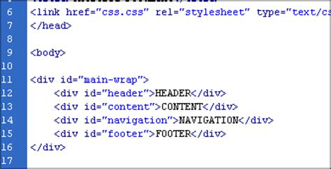 div html code basics of div tags html tutorials