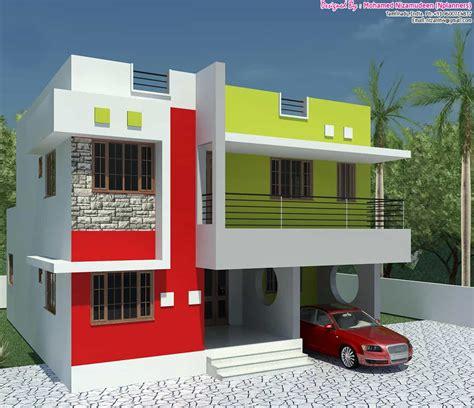 home design basic affordable basic 3bhk home design at 1300 sq ft
