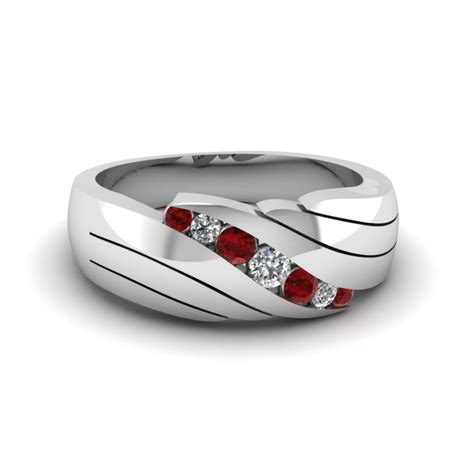 Wedding Ring Ruby by Mens Ruby Wedding Rings Fascinating Diamonds