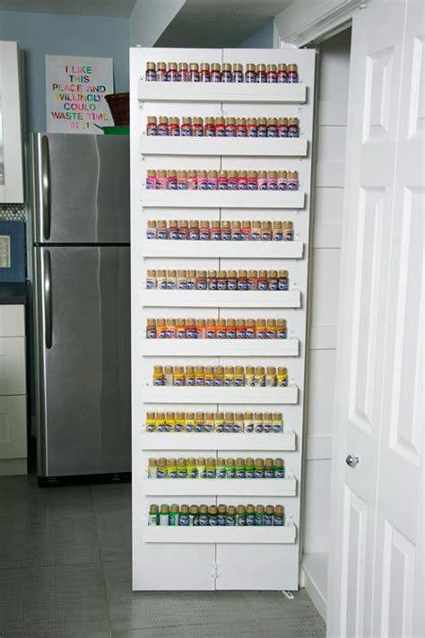 diy craft paint storage organizing my craft paint storage shelves tutorial
