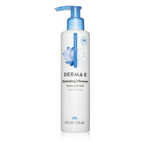 Skin Care Products Derma Poise Review by Derma E Hydrating Cleanser With Hyaluronic Acid Dermstore