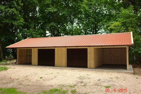 Carport Garage Kombination Holz by Garagen Carport Kombination 12 X 6 M Plus Dach 252 Berstand 1