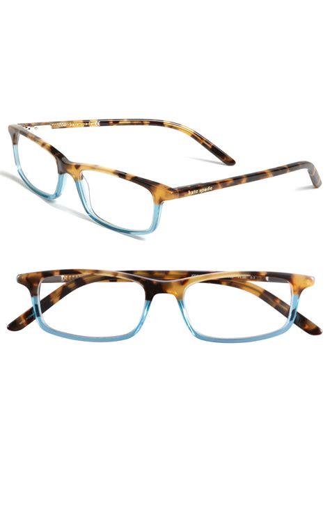 kate spade jodie 48mm reading glasses teal in